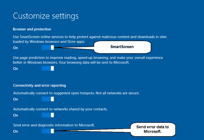 Upgrading to Windows 10? Pay Close Attention to The Privacy