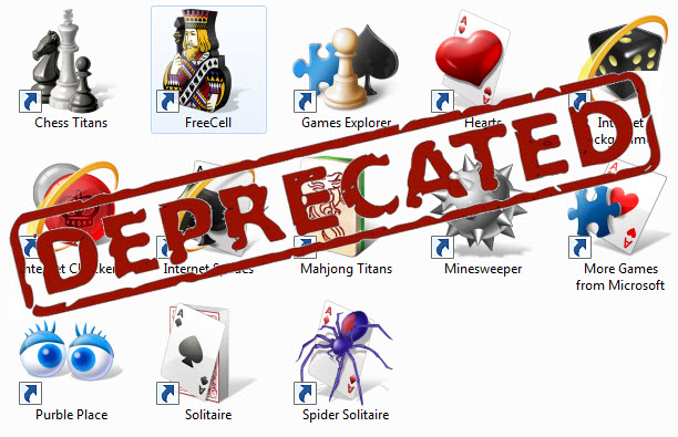Win7 Games Deprecated